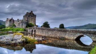 Castles architecture bridges buildings castle wallpaper
