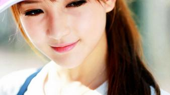 Chinese asian girls wallpaper
