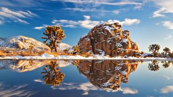 Clouds nature reflections waterscapes Wallpaper