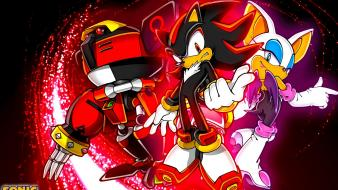 Dark team amy rose shadow game characters wallpaper