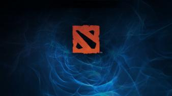 Dota 2 logo wallpaper