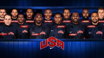 Dream team nba olympic games olympics usa wallpaper