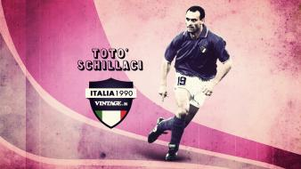 Futebol calcio sport legends salvatore schillaci totò wallpaper