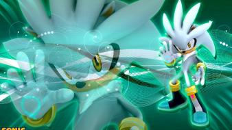 Hedgehog video games silver game characters team wallpaper