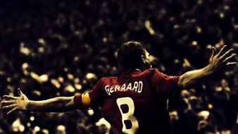 Liverpool fc steven gerrard Wallpaper