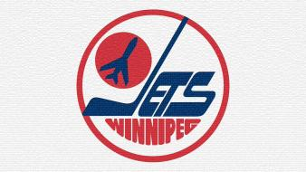 Nhl ice logos winnipeg jets away 80s wallpaper