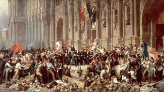 Paintings revolution europe artwork wallpaper