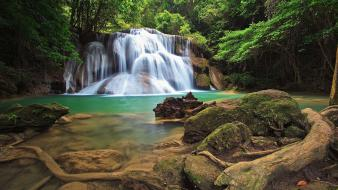 Rainforest waterfall pictures wallpaper
