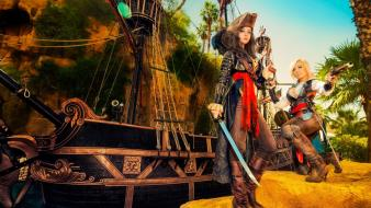Ship pirates jessica nigri girl monika lee wallpaper