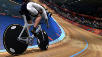 Sports olympics cycling game olympiad track wallpaper