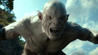 The hobbit azog defiler hobbit: desolation of smaug wallpaper