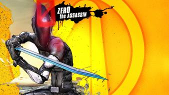 Video games assassin katana masks zero borderlands 2 Wallpaper