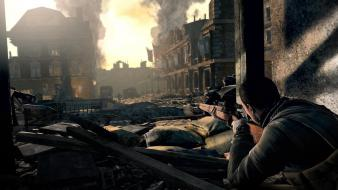 Video games sniper elite Wallpaper