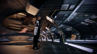 Video games spaceships mass effect 2 kelly chambers wallpaper