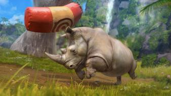 Video games zoo tycoon Wallpaper