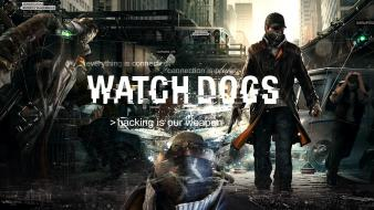 Watch dogs game watchdogs wallpaper