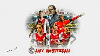 Ajax football teams futbol futebol amsterdam eredivisie wallpaper