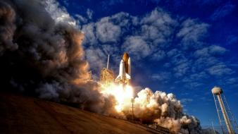 Atlantis hdr photography nasa launch wallpaper