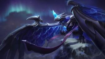 Birds league of legends frost anivia wallpaper