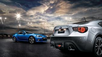 Brz subaru cars streetscape wallpaper