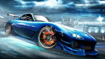Cars mazda rx7 wallpaper