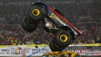 Cars monster truck jam wallpaper