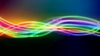 Colorful lines wallpaper