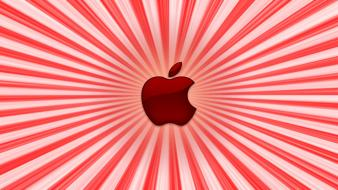 Computers red apple inc. mac logos world logo wallpaper