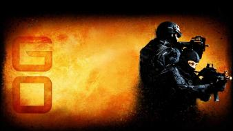 Counter terrorist valve corporation rifles video games wallpaper