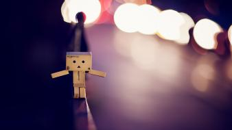 Danbo night photography wallpaper