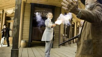 Django unchained dr king schultz actors firing wallpaper