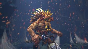 Dota 2 game sparks video games warriors wallpaper