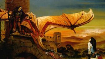 Dragons castle chris achilleos wallpaper