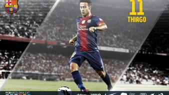 Fc barcelona thiago football teams sports wallpaper