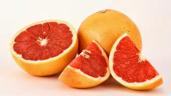 Fruits grapefruits strong fresh vitamins wallpaper