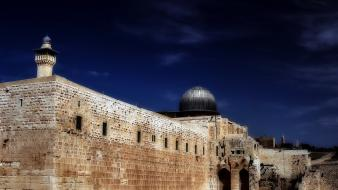 Islam israel jerusalem buildings mosques wallpaper