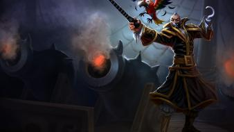 League of legends moba swain game wallpaper