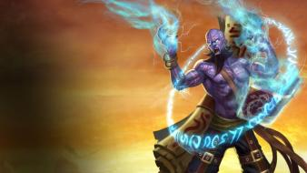 League of legends ryze moba game wallpaper