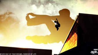Lifestyle parkour wallpaper