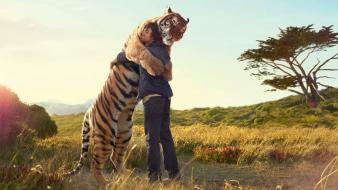Love tigers peace men friends friendship pal wallpaper
