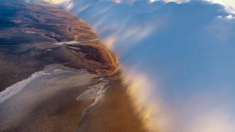 National geographic aerial view nature skies wallpaper
