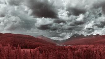 Nature lakes infrared photography natural scenery ir wallpaper