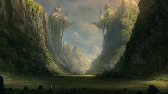 Neverending story artistic digital art fantasy wallpaper