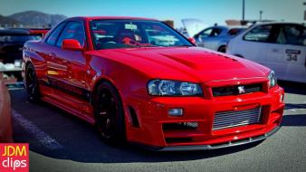 Nissan skyline jdm japanese domestic market gtr r34 wallpaper