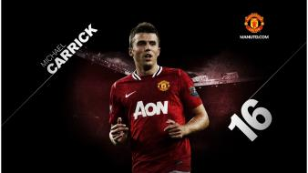 Old trafford football teams player carrick legend wallpaper