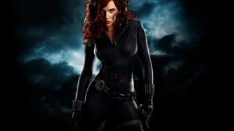 Redheads natasha romanoff iron man 2 actress wallpaper