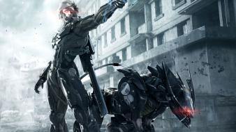 Robots raiden metal gear rising: revengeance samuel sam wallpaper