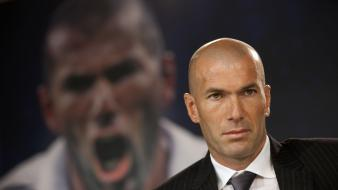 Soccer legend real madrid zinedine zidane french wallpaper