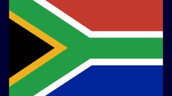 South africa flags nations wallpaper