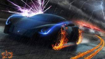 Speed artwork most wanted marussia b2 pursuit wallpaper